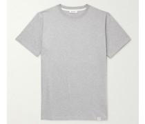 Niels Logo-Print Organic Cotton-Jersey T-Shirt