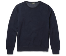 Double-faced Brushed Cotton-blend Jersey Sweatshirt