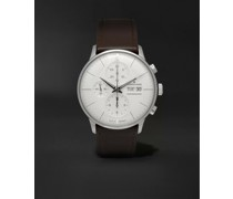 Meister Automatic Chronoscope 40mm Stainless Steel and Leather Watch, Ref. No. 027412001