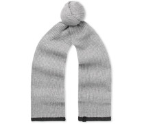 Ace Ribbed Cashmere Scarf