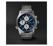 ALT1-ZT Blue Limited Edition Automatic GMT Chronograph 43mm Stainless Steel Watch, Ref. No. ALT1-ZT-BL-B