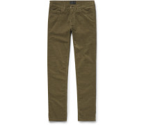 Ace Slim-fit Stretch-cotton Corduroy Jeans