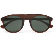 + Linda Farrow Round-frame Acetate Sunglasses