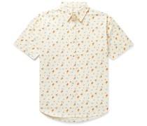 Summer Floral-Print Cotton Shirt