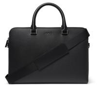 Harrison Cross-grain Leather Briefcase