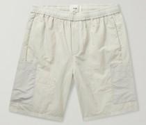 Stack Panelled Nylon Shorts