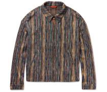 Cotton-blend Blouson Jacket
