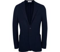 Midnight-blue K-jacket Slim-fit Wool Blazer