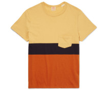 Slim-fit Striped Cotton T-shirt