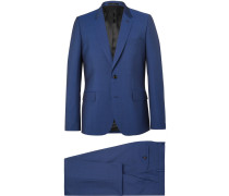 Blue Soho Slim-fit Wool And Mohair Blend Suit