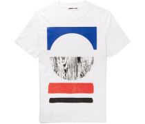 Slim-fit Printed Cotton T-shirt