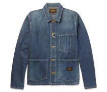 Washed-denim Jacket