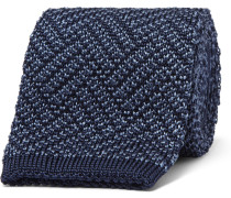 6cm Herringbone Knitted Silk Tie