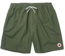 Vacation Mid-length Cotton-blend Swim Shorts