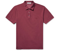Stretch-cotton Piqué Polo Shirt