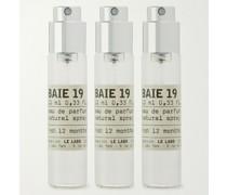 Baie 19 Eau de Parfum Travel Tube Refills, 3 x 10ml