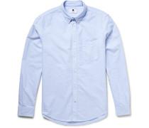 New Derek Slim-fit Button-down Collar Cotton Oxford Shirt