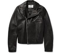 Gibson Leather Biker Jacket