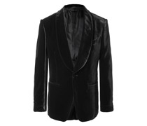 Shelton Slim-Fit Shawl-Collar Velvet Tuxedo Jacket