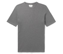 Miverton Ribbed Mélange Recycled Cotton-Blend T-Shirt