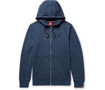Sportswear Legacy Loopback Cotton-jersey Zip-up Hoodie