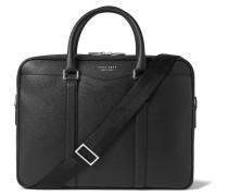 Signature Cross-grain Leather Briefcase