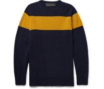 Striped Intarsia Cashmere Sweater