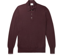 Knitted Cashmere Polo Shirt