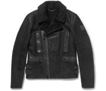 Westport Shearling Biker Jacket