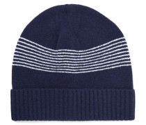 Derek Striped Wool Beanie