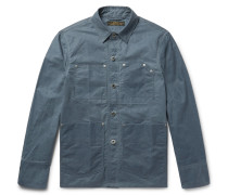 Slim-fit Waxed-cotton Chore Jacket