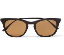 D-frame Titanium Sunglasses