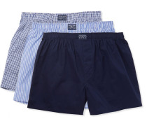 Three-pack Cotton Boxers
