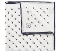 + Drake's Polka-dot Linen Handkerchief