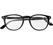 Round-frame Acetate Optical Glasses