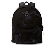 Camouflage-Print Cordura® Nylon and Cotton-Ripstop Backpack