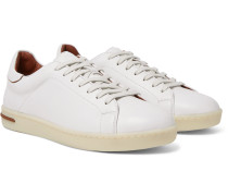 Traveller Walk Leather Sneakers