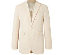 + 007 Bond Slim-Fit Unstructured Cotton and Linen-Blend Suit Jacket
