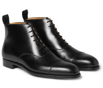 William Cap-toe Leather Boots