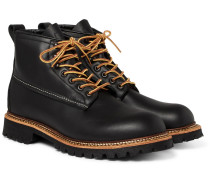 Ice Cutter Leather Boots