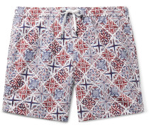 Charles Short-Length Printed Swim Shorts