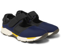 Cutout Neoprene Sneakers