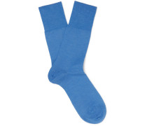 Airport Mélange Virgin Wool-blend Socks