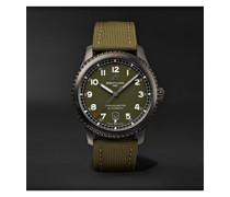 Aviator 8 Curtiss Warhawk Automatic 41mm Stainless Steel and Canvas Watch, Ref. No. M173152A1L1X1