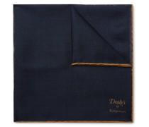 + Drake's Wool and Silk-Blend Pocket Square
