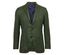Kincaid No. 2 Slim-Fit Herringbone Wool Blazer