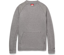 Cotton-blend Tech Fleece Sweater