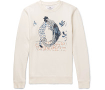 + Goss Brothers Alligator Printed Loopback Cotton-jersey Sweatshirt