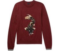 Koi-intarsia Wool Sweater