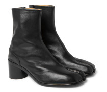 Tabi Split-Toe Leather Boots